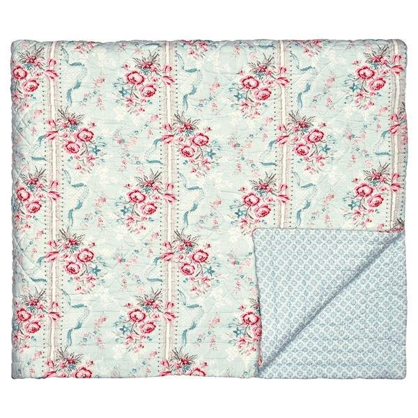 greengate quilt decke betty mint 140 x 220 cm. Black Bedroom Furniture Sets. Home Design Ideas