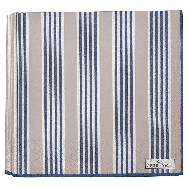 greengate servietten nora blue. Black Bedroom Furniture Sets. Home Design Ideas