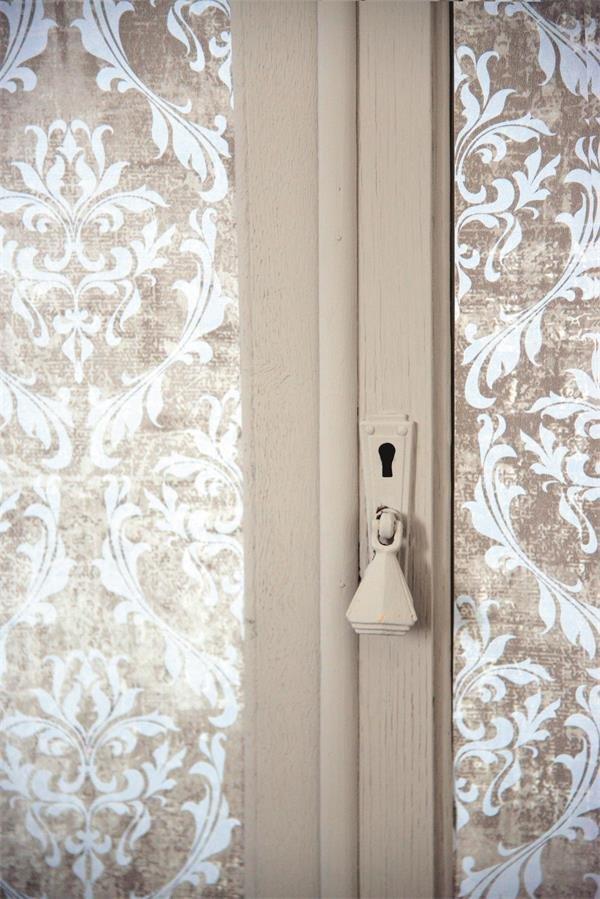 jeanne d'arc living tapete ornamente beige-grau-braun - Tapete Grau Beige