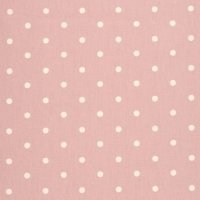 Clarke & Clarke Stoff Dotty rose