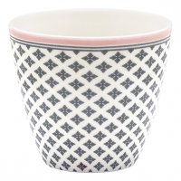 Greengate Latte Cup Sasha dark grey