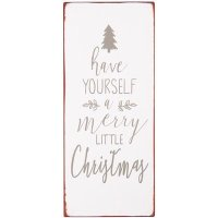 "IB Laursen Metallschild ""Have yourself a merry..."