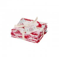 Tilda Fat Quarter Bundle Cottage red, 5er Set