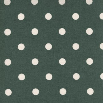 Au Maison Wachstuch Dots Big Green
