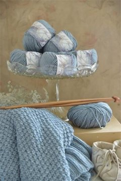 Jeanne dArc Living Wolle Soft blue