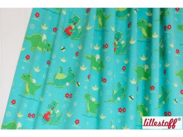 Lillestoff Jersey Stoff Little Dragons