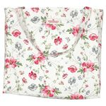 Greengate Shopper Meadow white