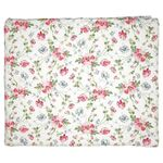 Greengate Quilt Decke Meadow white 140 x 220 cm