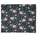 Greengate Quilt Decke Meadow black 180 x 230 cm