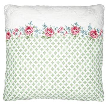 Greengate Quilt-Kissenhülle Meryl white w/embroidery 40 x...