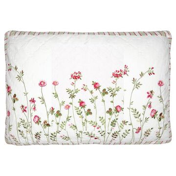 Greengate Quilt-Kissenhülle Camille white w/embroidery 40...