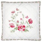 Greengate Quilt-Kissenhülle Meadow white w/embroidery 40...