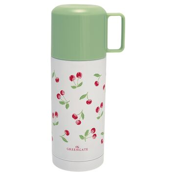 Greengate Thermosflasche Cherry white 350 ml