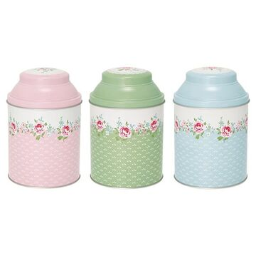 Greengate Dosenset Meryl white, 3er Set