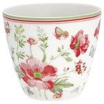Greengate Latte Cup Meadow white