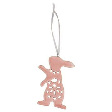 Greengate Anhänger Hase rosa