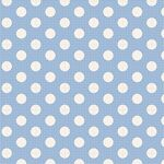 Tilda Stoff Medium Dots Blue