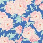 Tilda Fat Quarter Hummingbird Blue