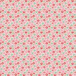 Tilda Fat Quarter Flowerfield Red