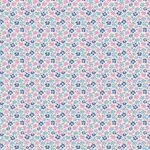 Tilda Fat Quarter Flowerfield Blue