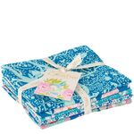 Tilda Fat Quarter Bundle Lemon Tree Blue/Teal