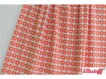 Lillestoff Jacquard Apple Liefde orange