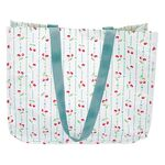 Greengate Shopper rund Cherry white