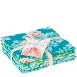 Tilda Fat Quarter Bundle Sunkiss Teal/Green
