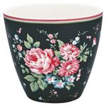 Greengate Latte Cup Marley dark grey