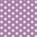 Tilda Stoff Medium Dots Lilac