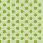 Tilda Stoff Medium Dots Green