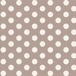 Tilda Stoff Medium Dots Grey