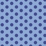 Tilda Stoff Medium Dots Denim Blue