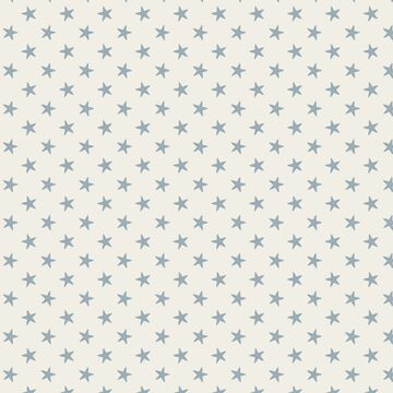 Tilda Stoff Tiny Star Light Blue