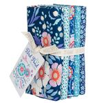 Tilda Fat Quarter Bundle Bird Pond Blue/Teal