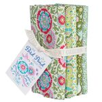 Tilda Fat Quarter Bundle Bird Pond Green/Sage