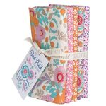 Tilda Fat Quarter Bundle Bird Pond Honey/Dove White