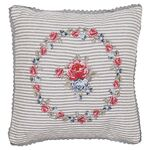 Greengate Quilt-Kissenhülle Hailey white w/embroidery 40...