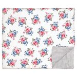 Greengate Quilt Decke Hailey white 140 x 220 cm