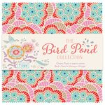 Tilda Charm Pack Bird Pond warm colors