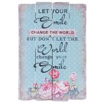 Clayre & Eef Holzschild Let your smile change the world