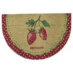 Greengate Türmatte Strawberry red half round