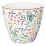 Greengate Latte Cup Megan white