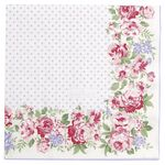 Greengate Papier-Servietten gross Rose white