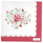 Greengate Papier-Servietten gross Mary white