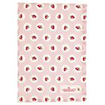 Greengate Küchentuch Strawberry pale pink 50 x 70 cm