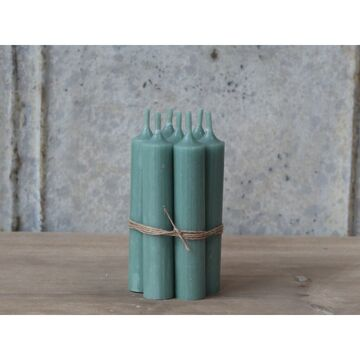 Chic Antique Stabkerzen verte, 6er Set