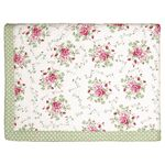 Greengate Quilt Decke Mary white 250 x 260 cm