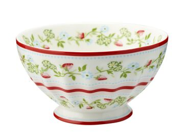 Greengate Schale (French Bowl) xlarge Gloria white
