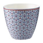Greengate Latte Cup Juno dusty blue